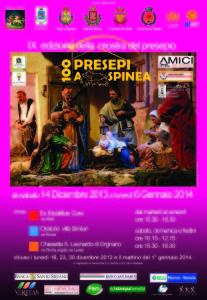 100 Presepi a Spinea: il manifesto della 9^ edizione 2013 -2014