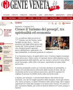 100 presepi Gente Veneta online 5.1.2014