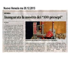 Nuova Venezia ma 20.12.2013 100 presepi inaugurati