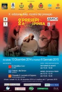 100 presepi_Manifesto - 2014_2015