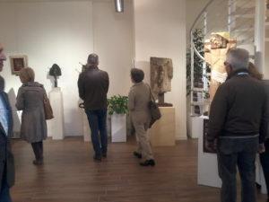 pubblico in visita alla mostra