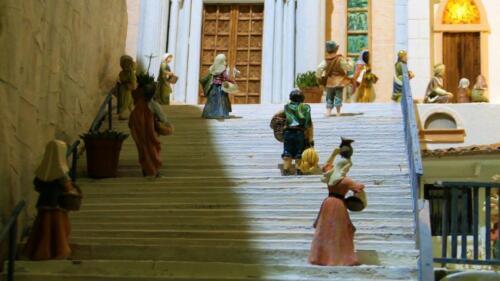Renato Brazzolotto presepe nella chiesa a Caselle di S M Sala Ve -Madonna della Corona a Spiazzi (2)