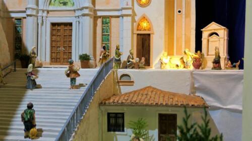 Renato Brazzolotto presepe nella chiesa a Caselle di S M Sala Ve -Madonna della Corona a Spiazzi (3)