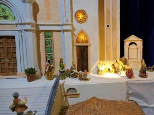 Renato Brazzolotto presepe nella chiesa a Caselle di S M Sala Ve -Madonna della Corona a Spiazzi (4)