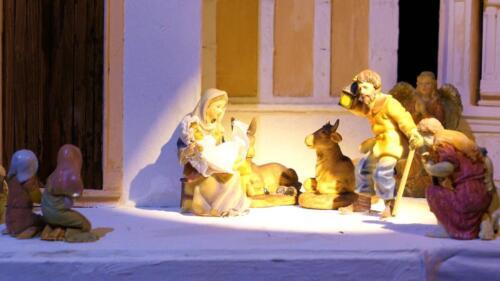 Renato Brazzolotto presepe nella chiesa a Caselle di S M Sala Ve -Madonna della Corona a Spiazzi (5)